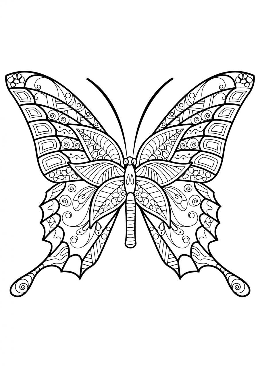 Mariposas Kawaii Para Colorear Buscar Con Google Dibujos De