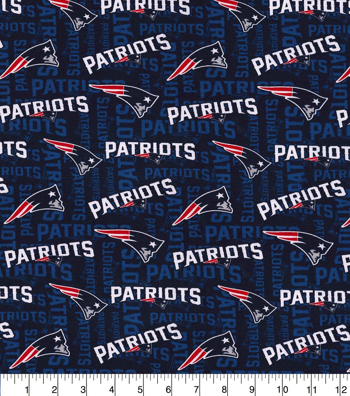 New England Patriots Cotton Knit Fabric Joann New England Patriots Logo Patriots Logo England Patriots