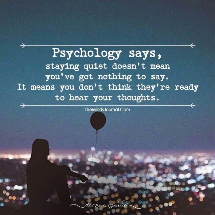 Psychology Says | themindsjournal.com | Psychology says ...