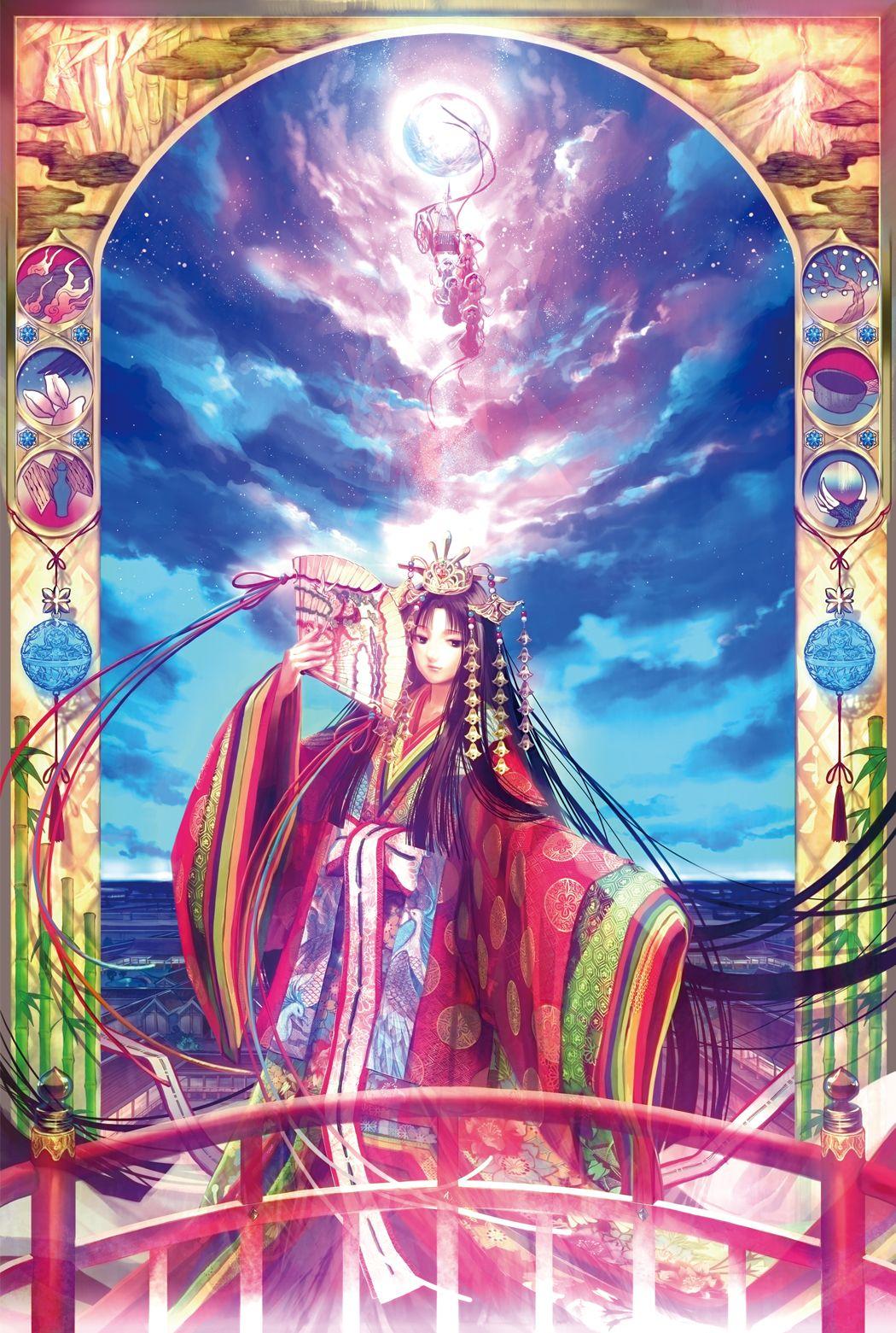 Princess Kaguya Fuji choko Nghệ thuật ảo ảnh, Cô gái