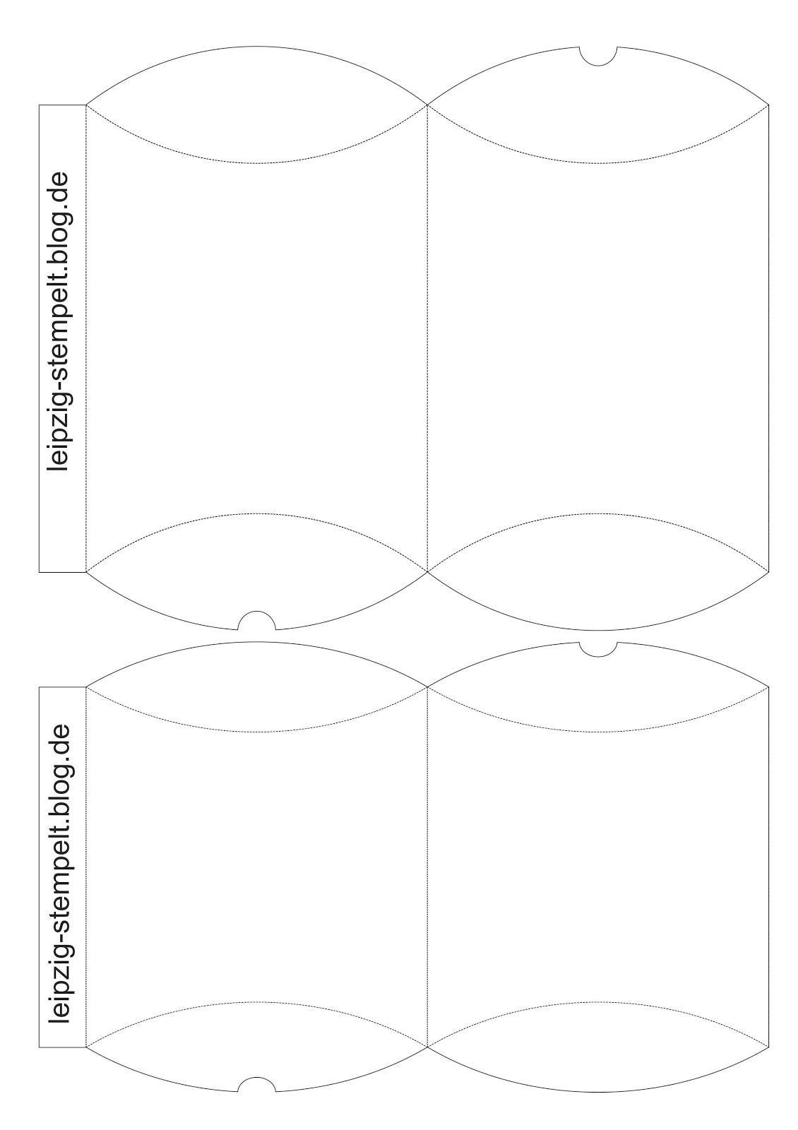 Geschenkverpackung Ostern Osterhase Pillow-Boxen Kissenschachtel Geschenkboxen