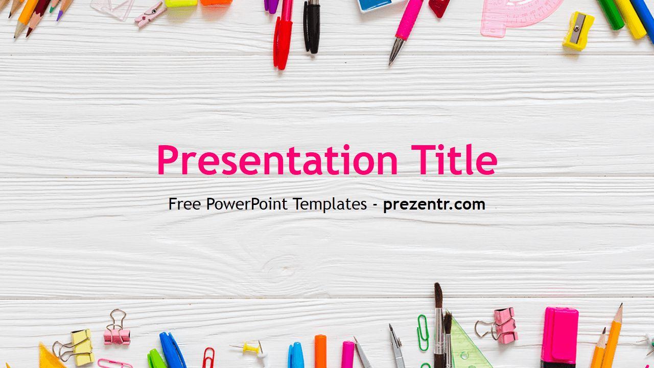 Free School Powerpoint Template School Powerpoint Templates Powerpoint Templates Powerpoint Game Templates Free education powerpoint templates for teachers