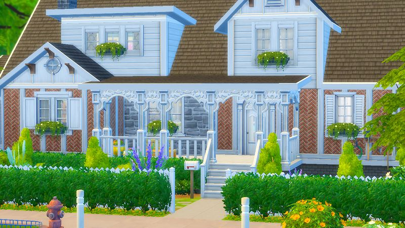 WILLOW REDDISH (aka idk how to name houses)lot size: 40 x 30 price: §249,911 packs needed: city living, get together, get to work, kids room, movie hangout, vampires, dine out, backyard, outdoor...
