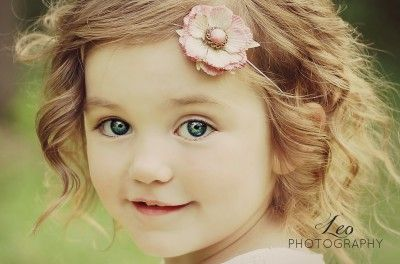 """So cute I can't look away"" go vote for this little girl! Leo photography brown  hair, blue eyes, curly hair, so adorable! Photo of 2 years almost 3 yr old.  """