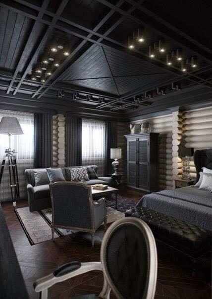 Classy black decor