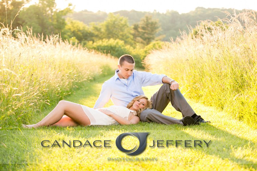 Candace Jeffery Photography, Engagement Session, Field