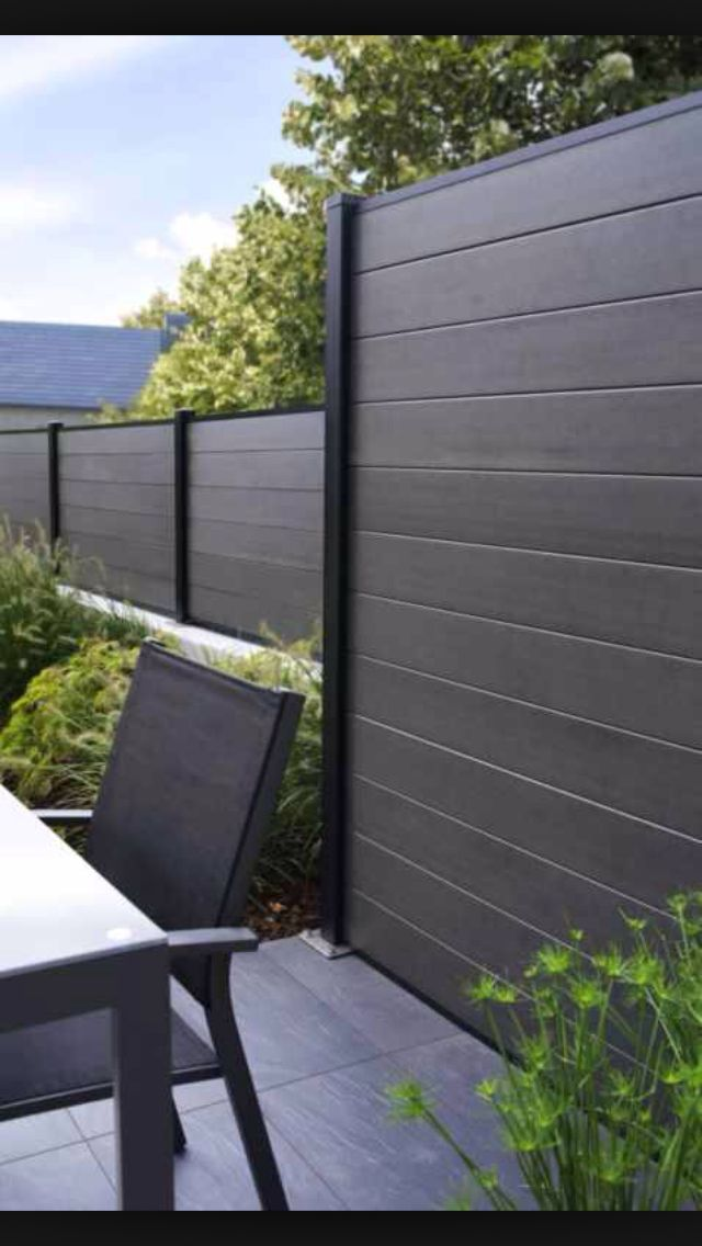 Image Result For Modern Privacy Fence Panel Designs Privacy