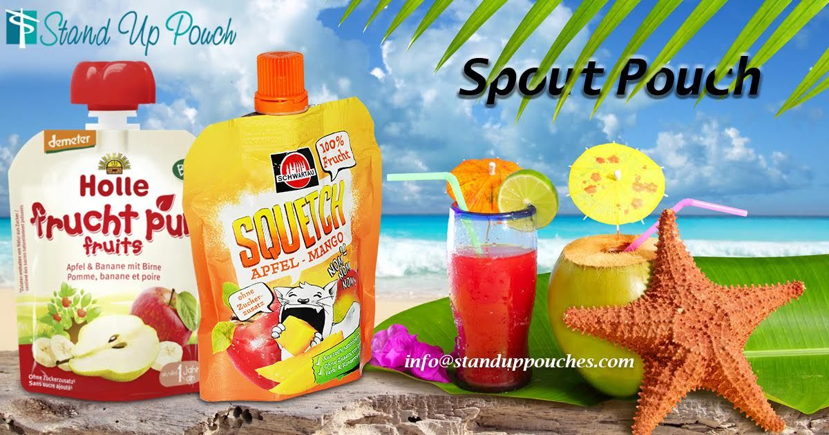 Manufacturer and Exporter of #SpoutPouches, Bottom Gusseted Pouch, Transparent Pouch offered by.  If you have any queries then contact us - Our Phone ( WhatsApp ) Number - + 91 749 097 7640   More information Visit at http://www.standuppouches.com/liquid-bags-and-spout-pouches.html