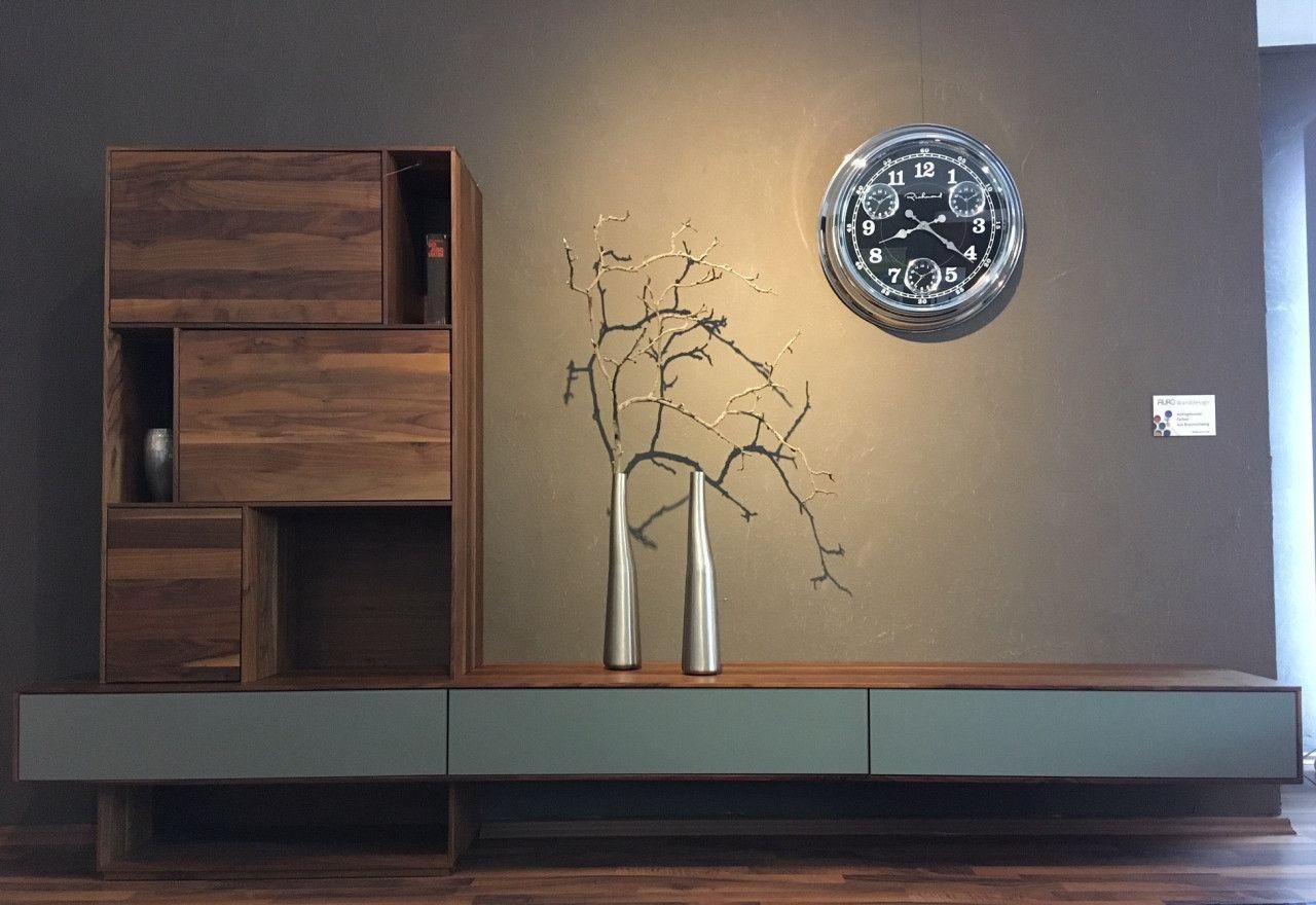 Regal Sideboard Sigma Von Rodam In Nussbaum Massiv Geolt Und Gewachst Deko Dekoideen Dekoration Design Des Innenarchitektur Wohnen Inneneinrichtung