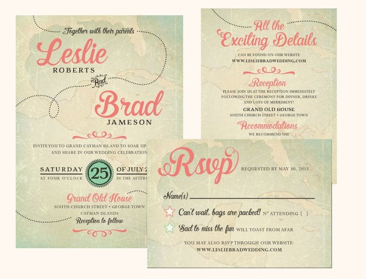 Destination Wedding Invitation Wording Etiquette And Examples Destination Wedding Details In 2020 Destination Wedding Invitation Wording Wedding Invitation Wording Examples Destination Wedding Invitations