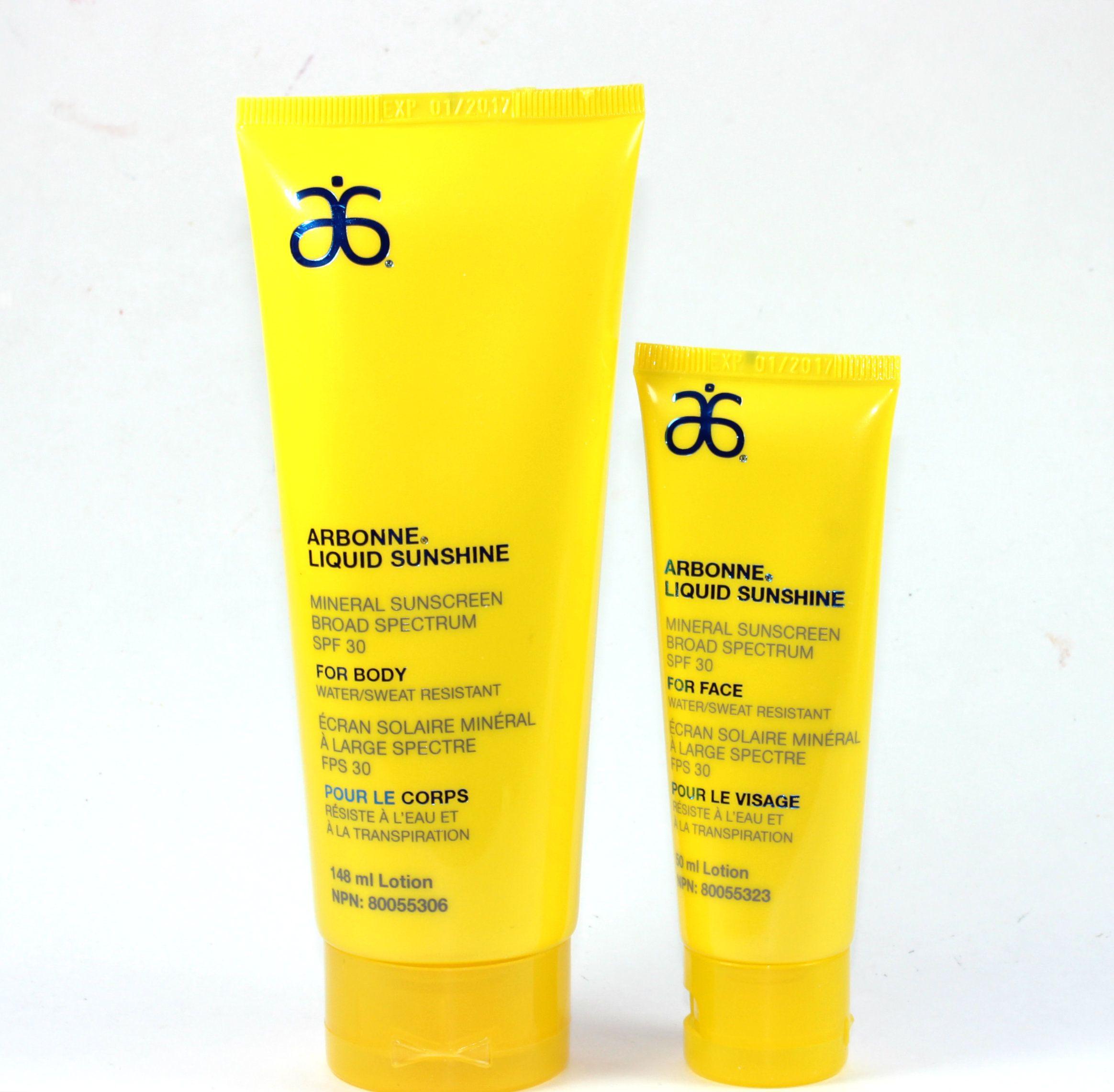 Arbonne Liquid Sunshine Mineral Sunscreen SPF 30 Face