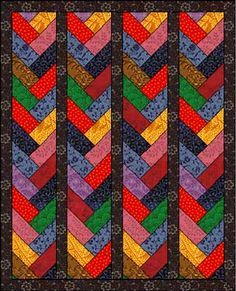 Prairie Braid Pattern: tutorial included | Quilt Blocks 3 ... : prairie quilt patterns - Adamdwight.com