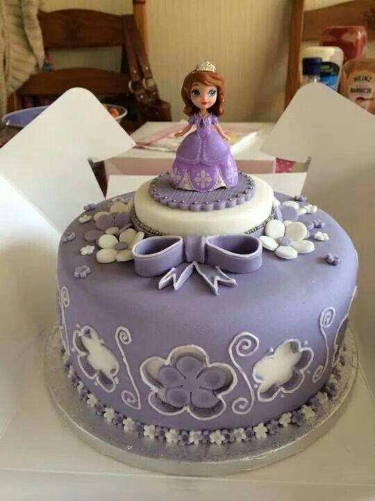 princess sofia cake princess cakes cupcakes and cookies pinterest geburtstagstorte und backen. Black Bedroom Furniture Sets. Home Design Ideas