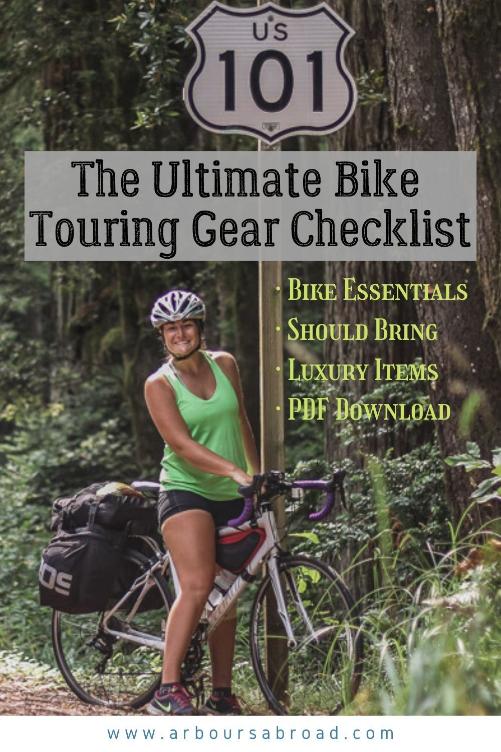 Ultimate Bike Touring Gear Checklist For Cycle Touring And Bikepacking Bike Touring Gear Bikepacking Bike Touring Packing