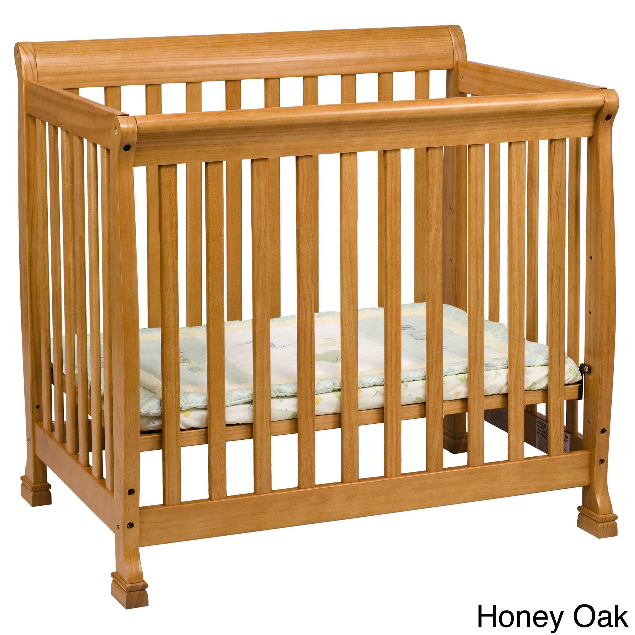 Davinci Kalani 2 In 1 Mini Crib And Twin Bed (Grey)