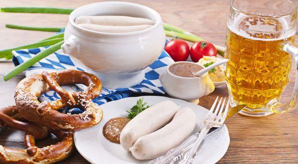 Bayrische Küche: Weißwurst
