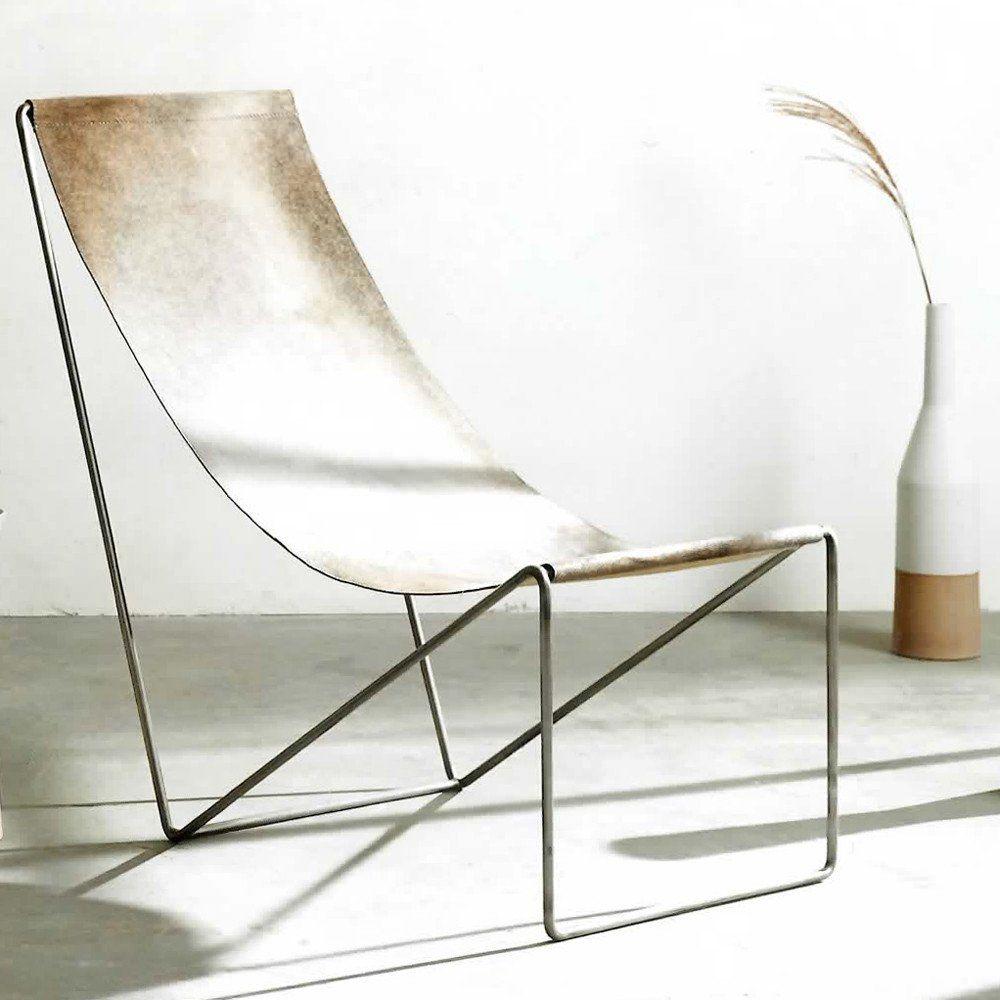 Cowhide Sling Chair | Forma Living