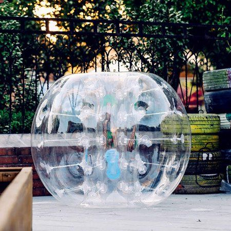 0.8mm PVC transparent Inflatable Bumper Bubble Soccer Ball
