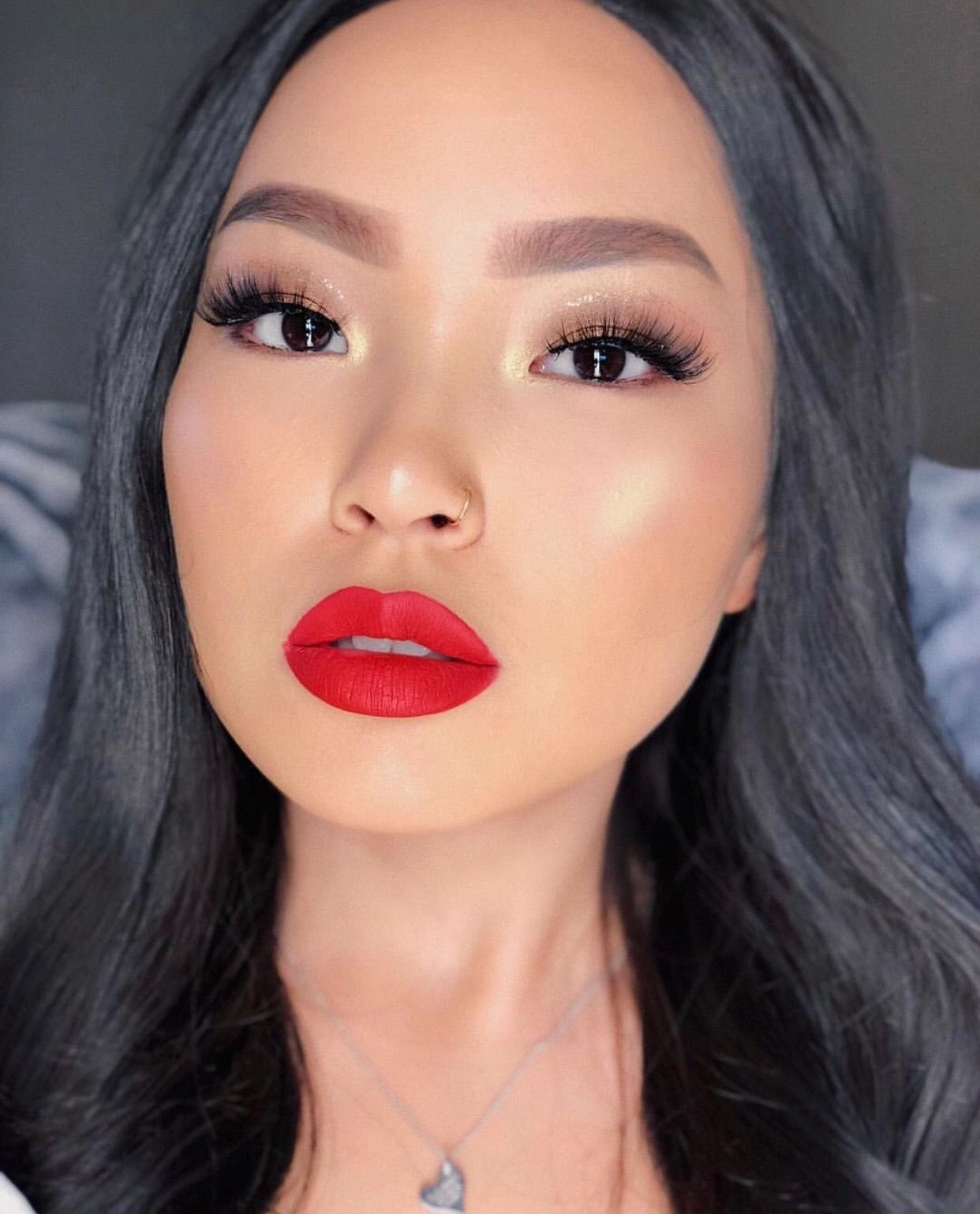 No Fx1 In 2020 Red Lips Makeup Look Red Lipstick Makeup Red