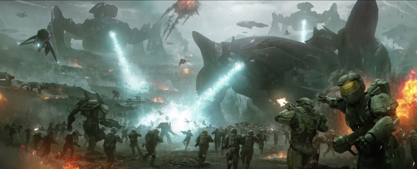 halo wars 2 painting - Google Search