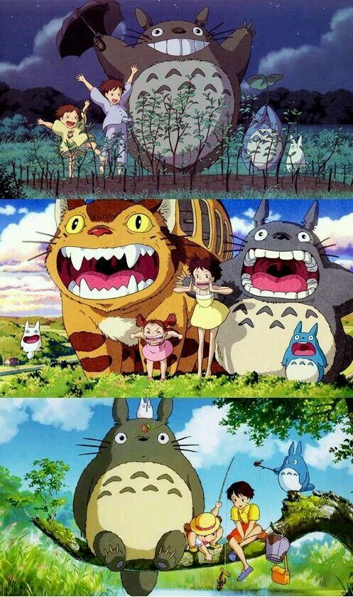 My Neighbour Totoro Studio Ghibli Movies Studio Ghibli Totoro