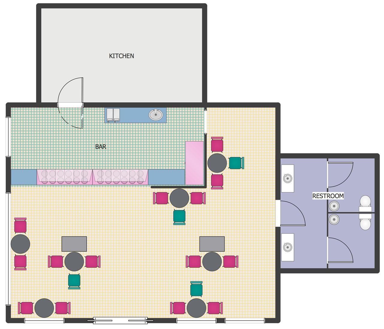 Ice Cream Shop Floor Plan Cafe Floor Plan Restaurant Floor Plan Restaurant Flooring