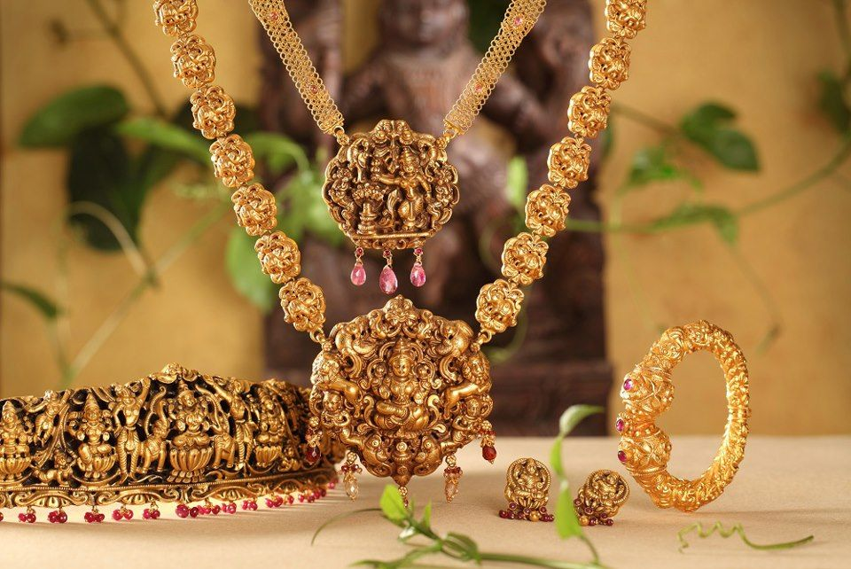 Magnificent Temple Jewellery Collection Indian jewelry Temple and