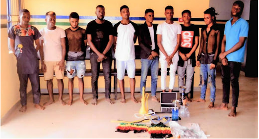 Welcome It S Silver Tuke Blog Police Raid Hotel In Lagos Arrest 57 Suspected Ho