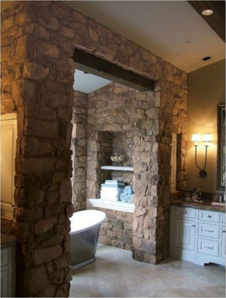Wonderful Stone Bathroom Designs Stone Bathroom Bathroom - 50 wonderful stone bathroom designs
