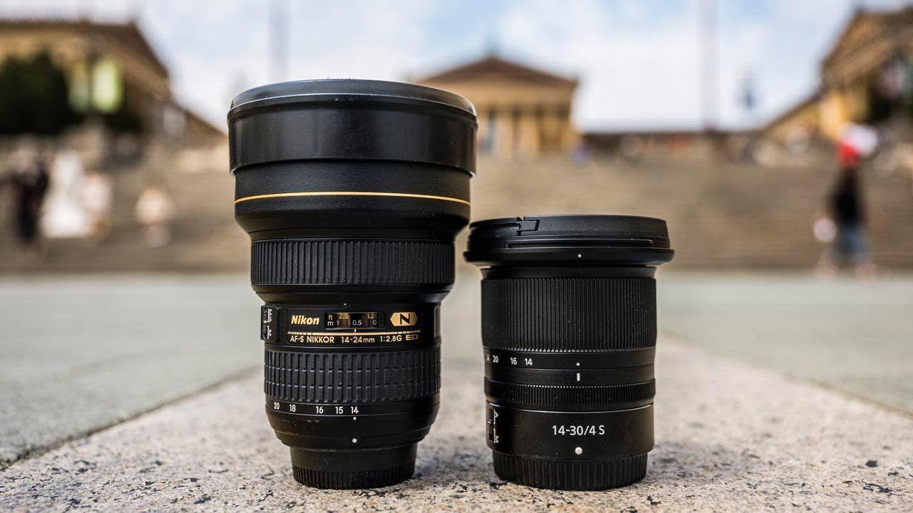 Nikon Z 14 30 F4 S Vs Nikon 14 24 F2 8 Is Cheaper Actually Better Le Nikon Rolling Bag Lens