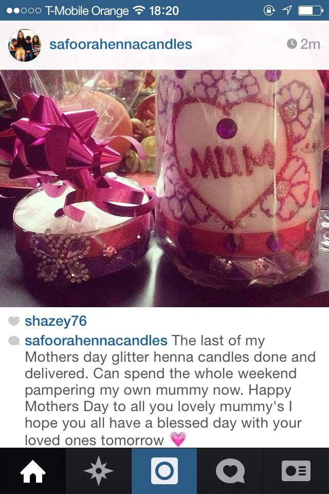 Henna Candle Gift Set Safoora S Henna Candles Pinterest