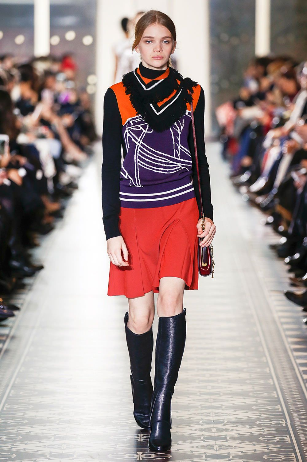 5ae543ad5a6 A runway look from the Tory Burch Fall Winter 2016 Fashion Show   ToryBurchFW16  nyfw  ToryBurch