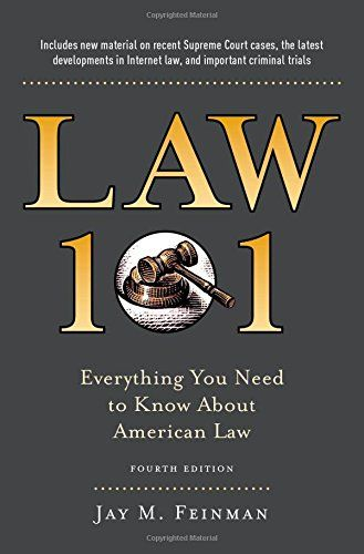 Best Books for Pre-law Students - Summer Reading Before You