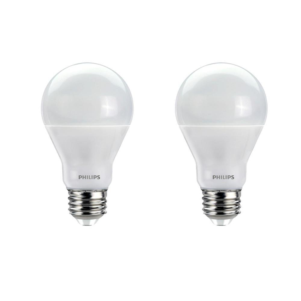 Philips 60 Watt Equivalent A19 Dimmable Led E Light Bulb Soft