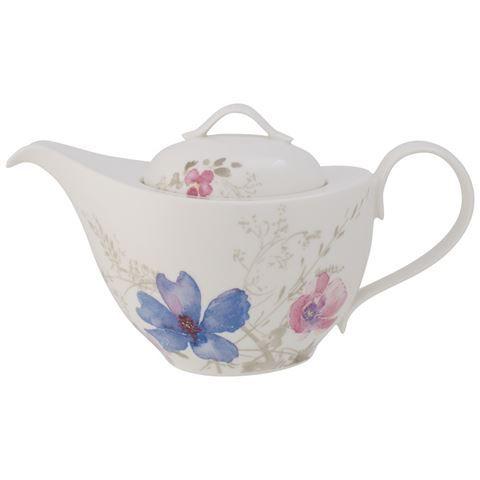 V B Mariefleur Gris Teapot 1l Tea Pots Villeroy Boch Tea