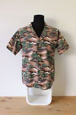 Mens Hawaiian Shirt GENUINE made in Hawaii cotton HIPSTER Vintage trendy indie