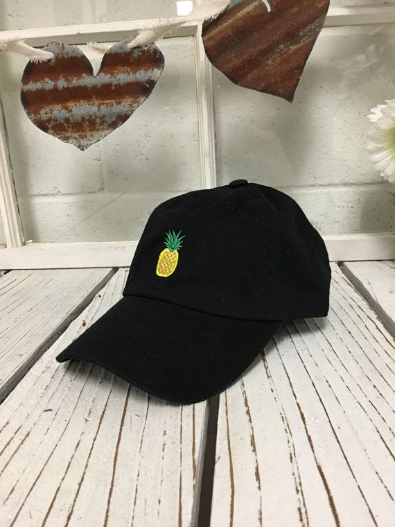 8fbb14ae8 PINEAPPLE Baseball Hat Curved Bill Low Profile by PrfctoLifestyle ...
