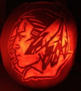 Fighting Sioux Pumpkin Jaco S Project Next Year With Images