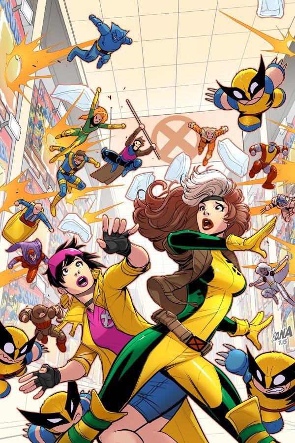 X Men 92 3 Variant Cover X Men Drawing Superheroes Comics