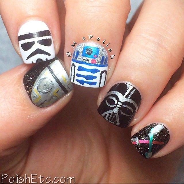 Star Wars Nail Art Ideas: Star Wars By Mcpolish #nail #nails #nailart