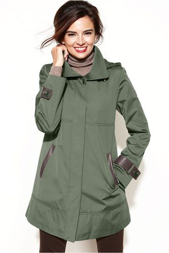 5fef94f96c5 15 Sleek & Stylish Raincoats To Help You Weather The Storm in 2019 | Rain  jackets | Stylish raincoats, Raincoats for women, Hooded raincoat