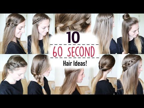 Quick And Easy Hairstyles For Little Girls 2 Minutes Or Less Hair
