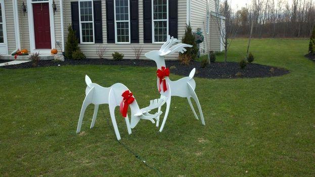 Ryobi Nation Sun Room Christmas Yard Art Christmas Reindeer Christmas Decor Diy