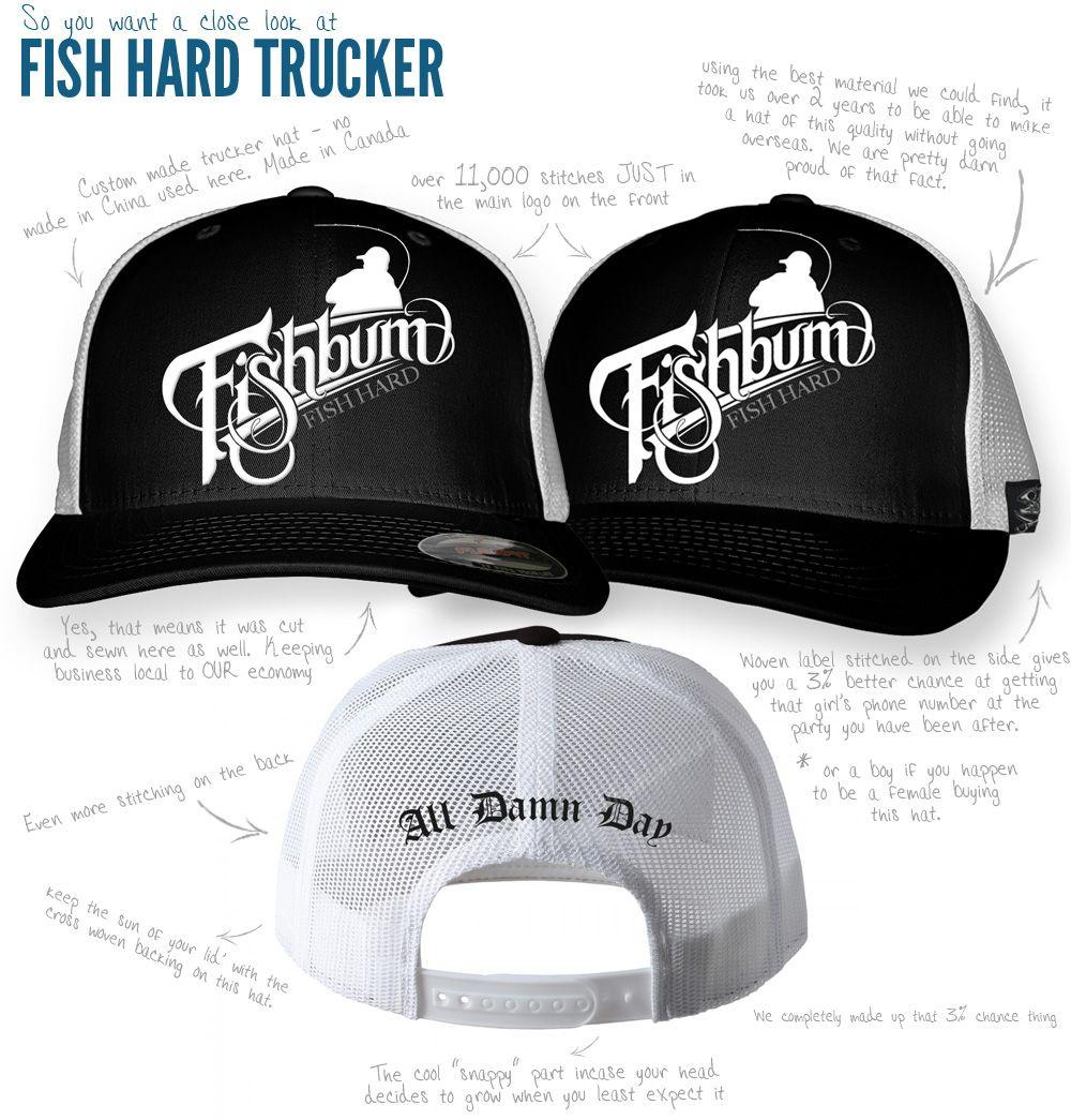 a86711e7 FISHBUM-Fishing-clothing-Fishbum-Fishing-Hat-Fish-Hard-Hat | Fishing ...