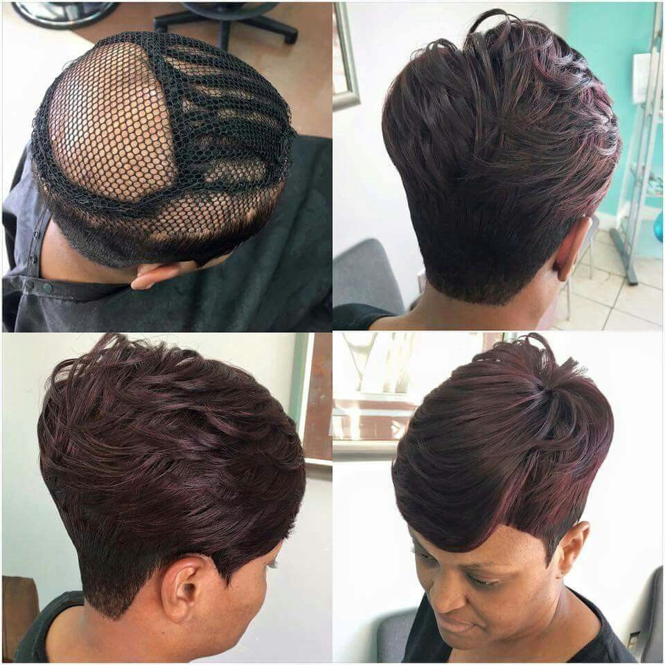 Pin by Jennifer Dewberry on Hair Gallery  Short weave hairstyles