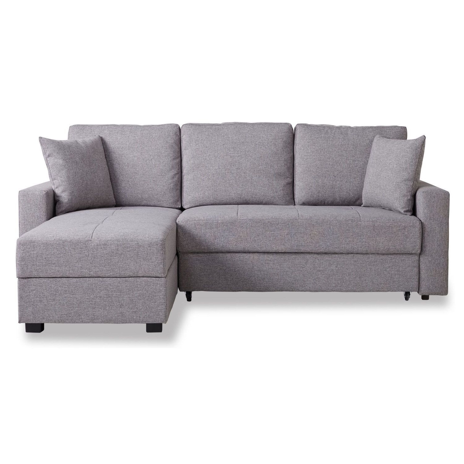 Casablanca Fabric Platform Sofa Bed With Storage Next Day Delivery