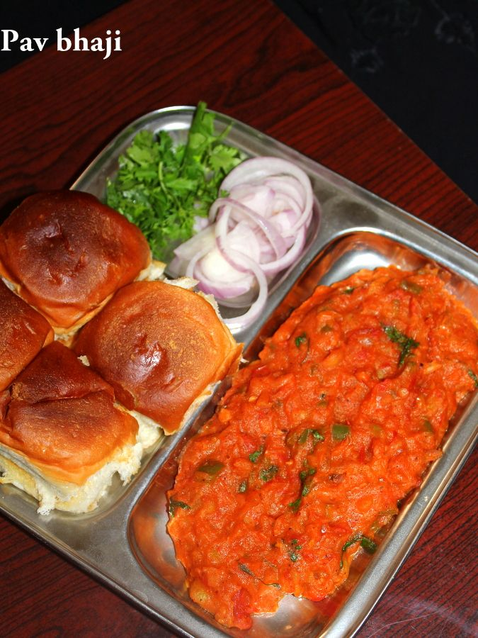 Pav Bhaji Recipe How To Make Pav Bhaji Yummy Indian Kitchen Recipe Bhaji Recipe Indian Food Recipes Vegetarian Desi Street Food