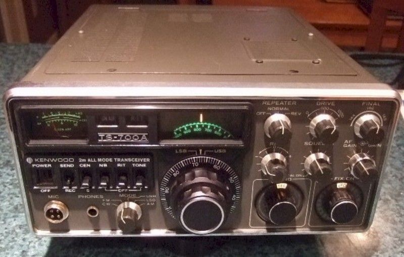 Kenwood TS-700A Two Meter Multimode SSB-CW-FM 10 Watt Amateur Radio