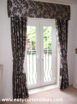 French Door Window Treatments Cornice Window Treatments Maybe I