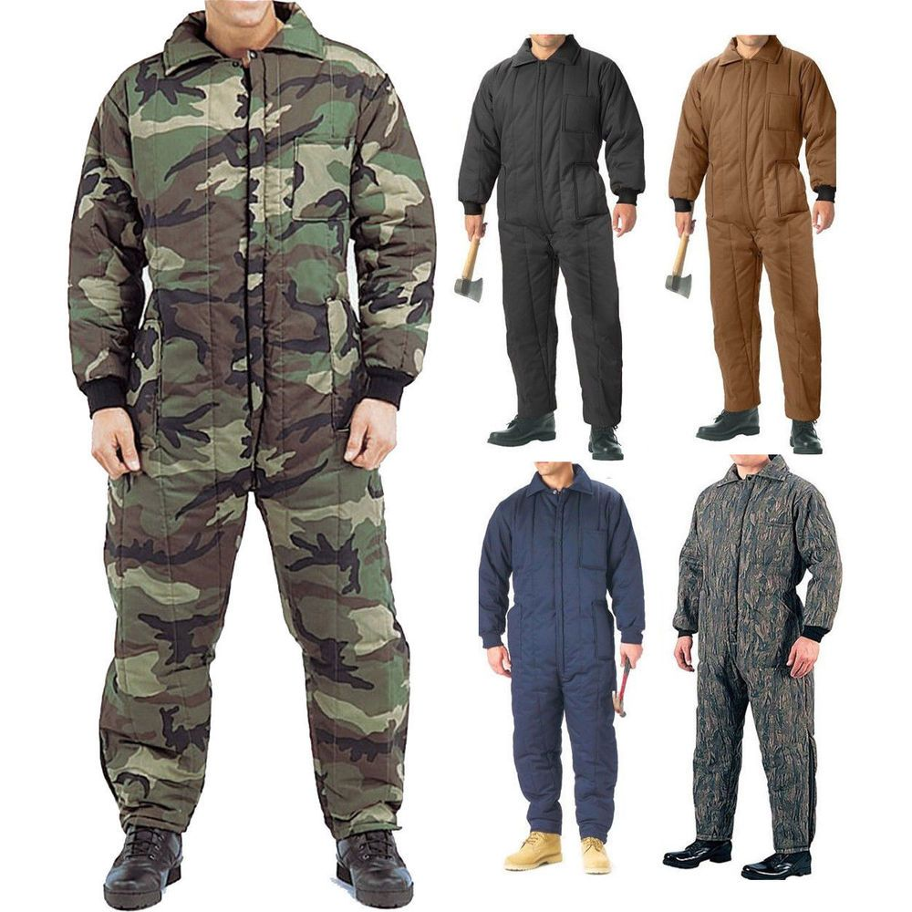 cold weather insulated coveralls uniform work duty on insulated work overalls id=39288
